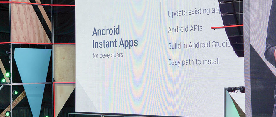 Instant apps for Android